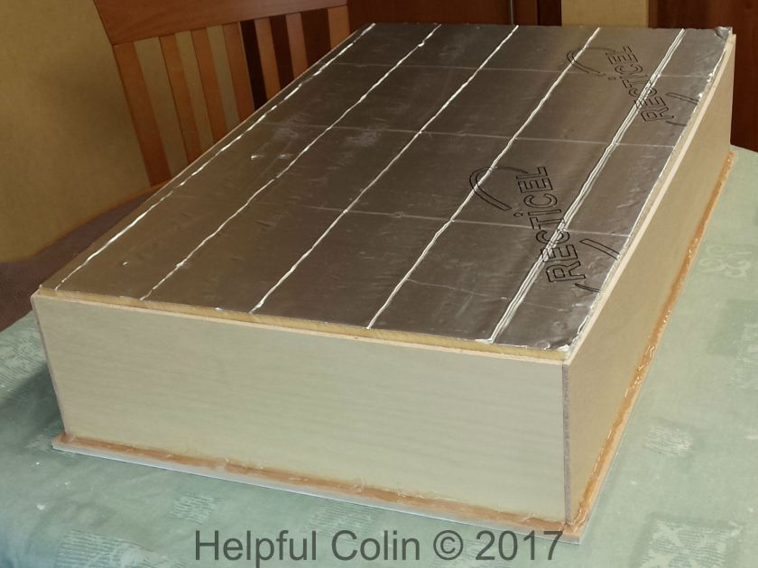 Completed Insulated Loft Trapdoor