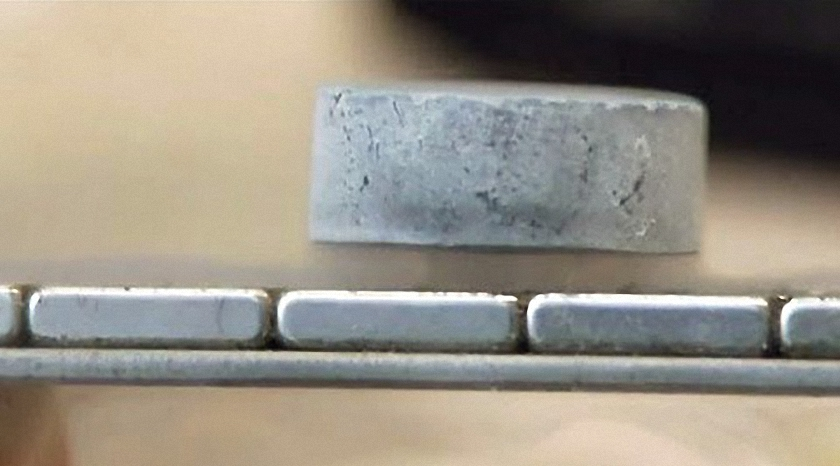 Magnetic Levitation Using A Superconductor