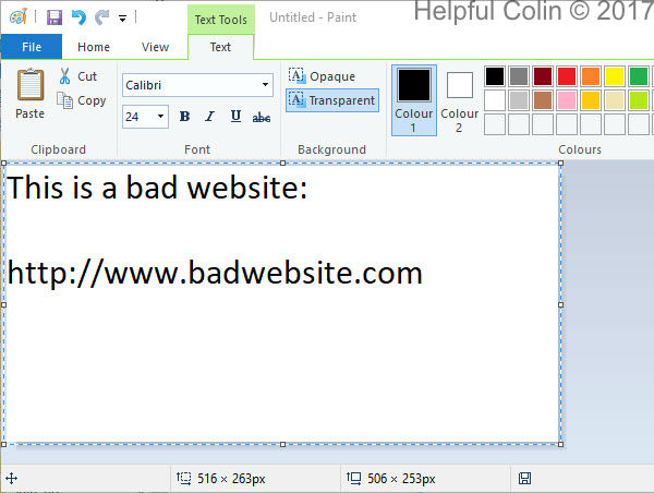 Discussing Malicious Website URLs