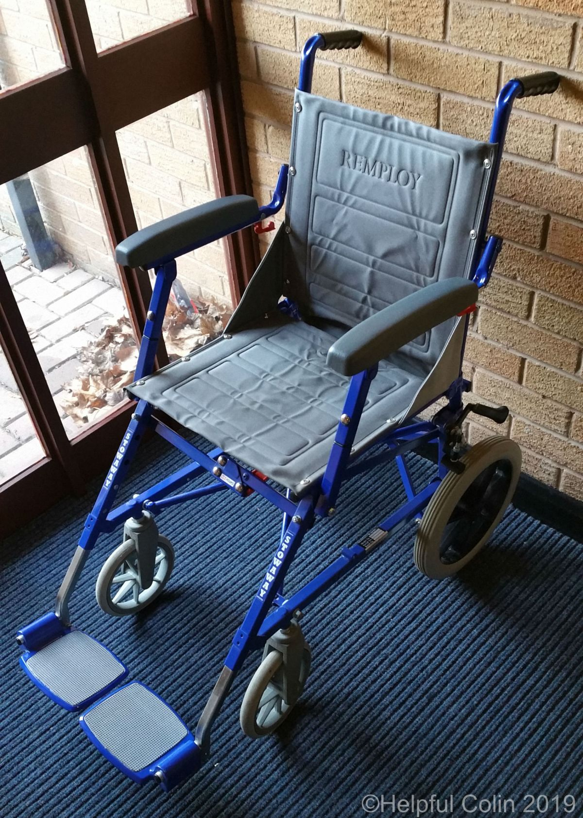 Restoring An Attendant Propelled Stowaway Wheelchair
