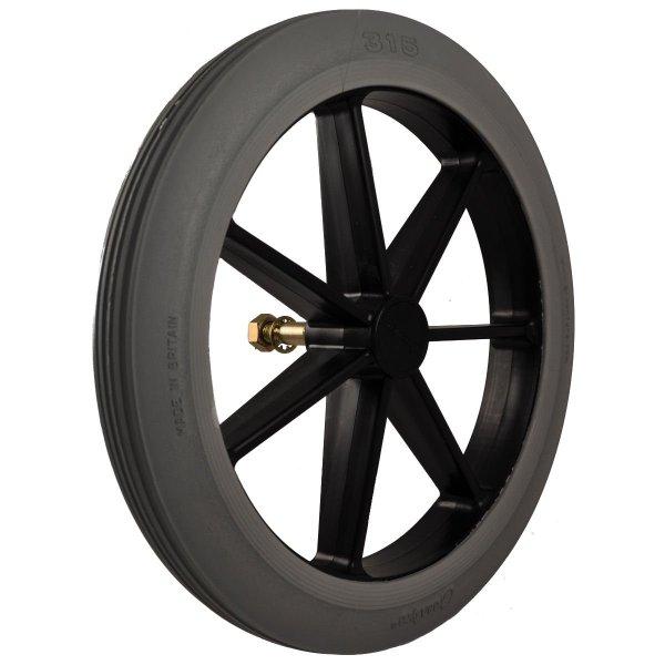 Wheelchair rear wheel