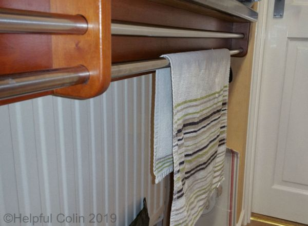 twin towel rails