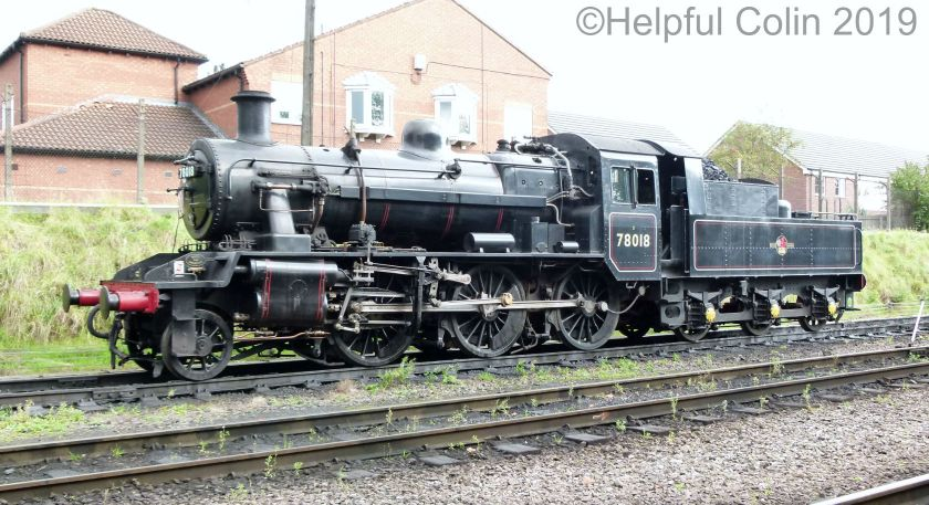 78018 autumn steam gala 2019