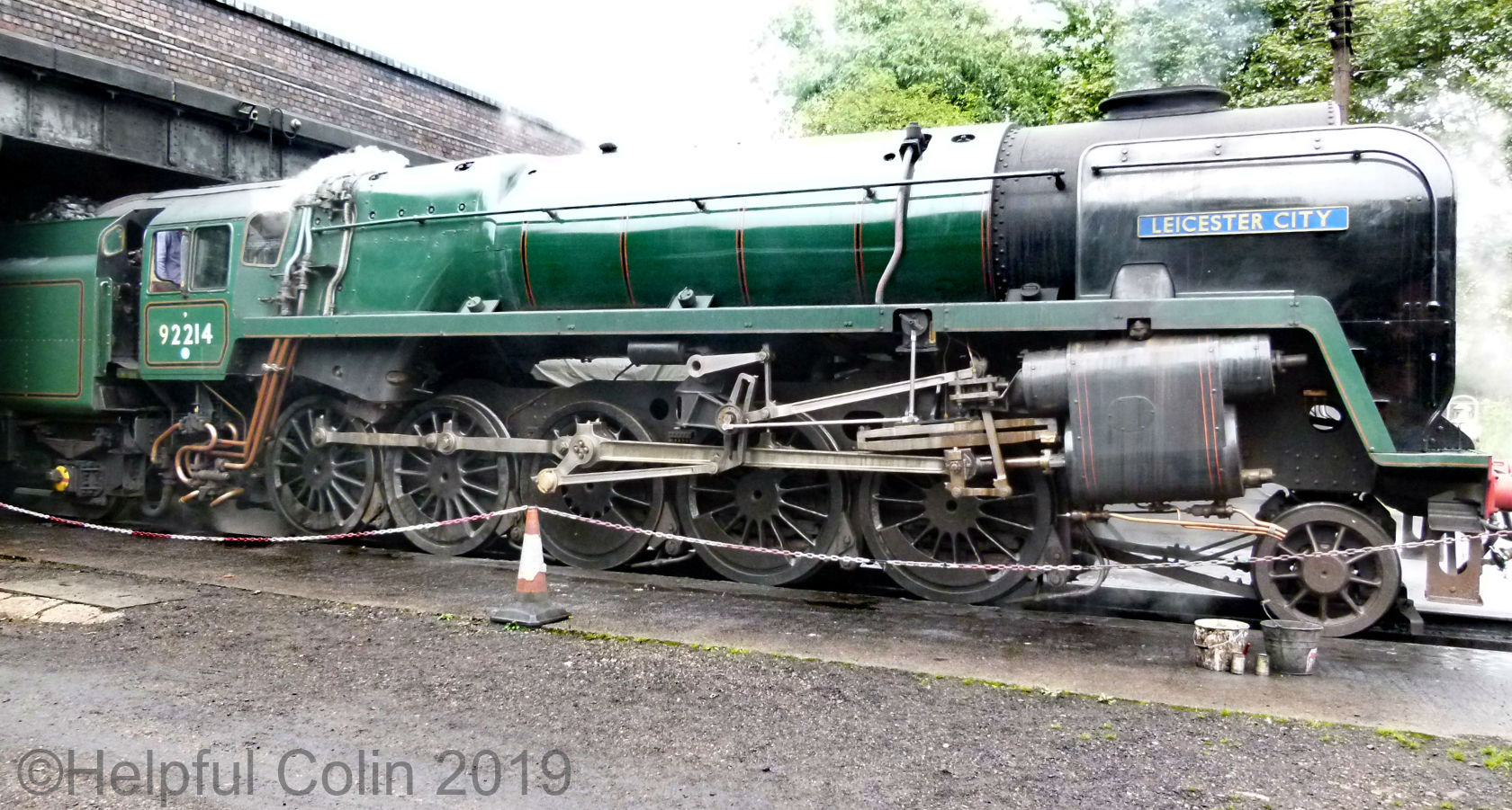 92214 autumn steam gala 2019