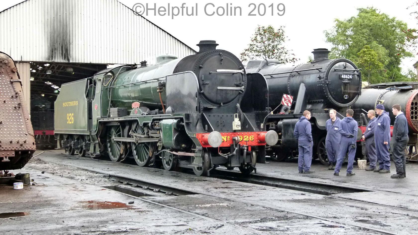 46521 & 78018 autumn steam gala 2019
