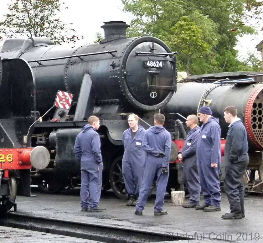 48624 autumn steam gala 2019
