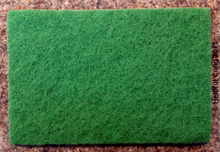 Green Fibre Scouring Pad