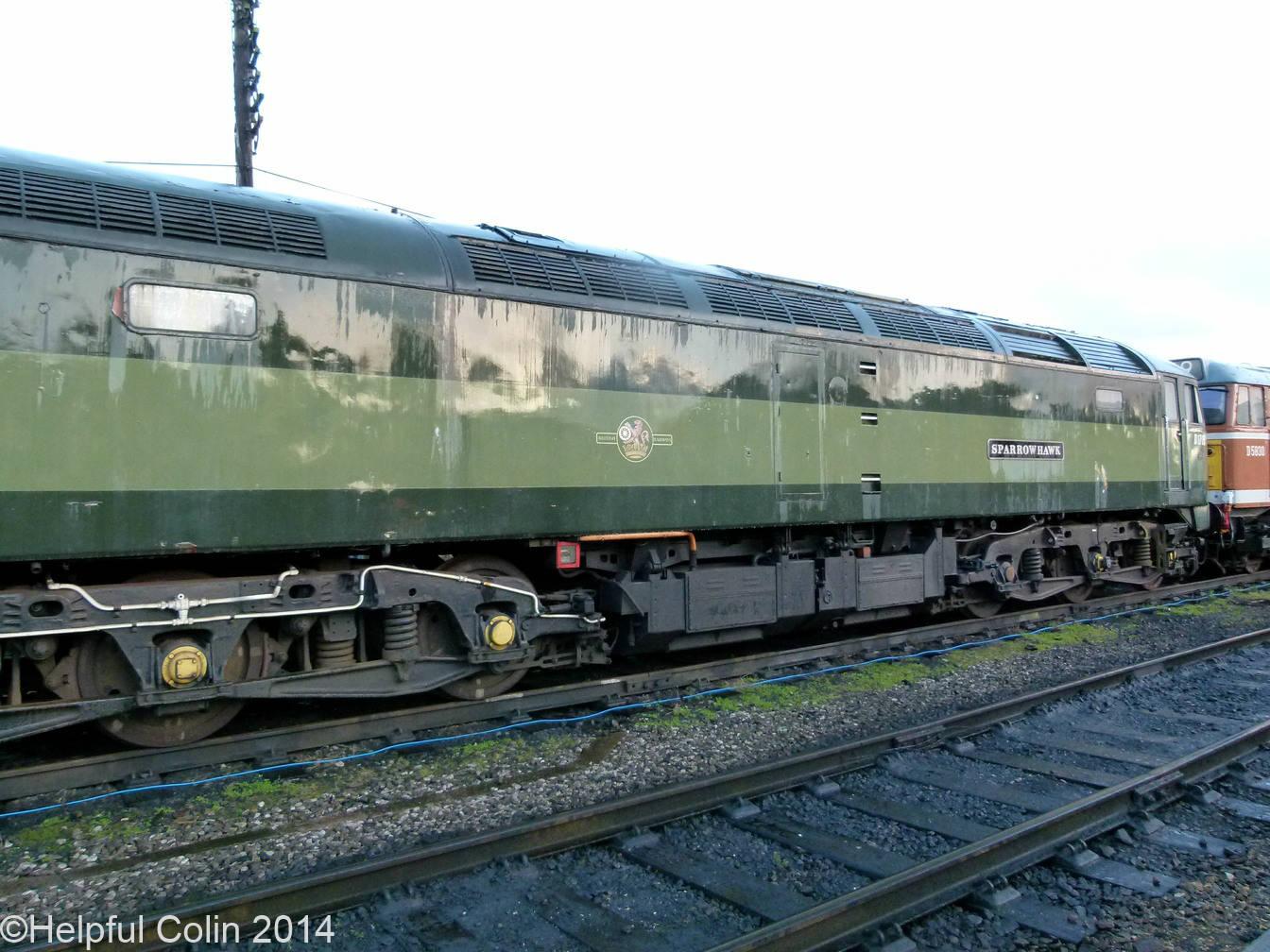 No.D1705 'Sparrowhawk' – Co-Co diesel-electric locomotive Class 47