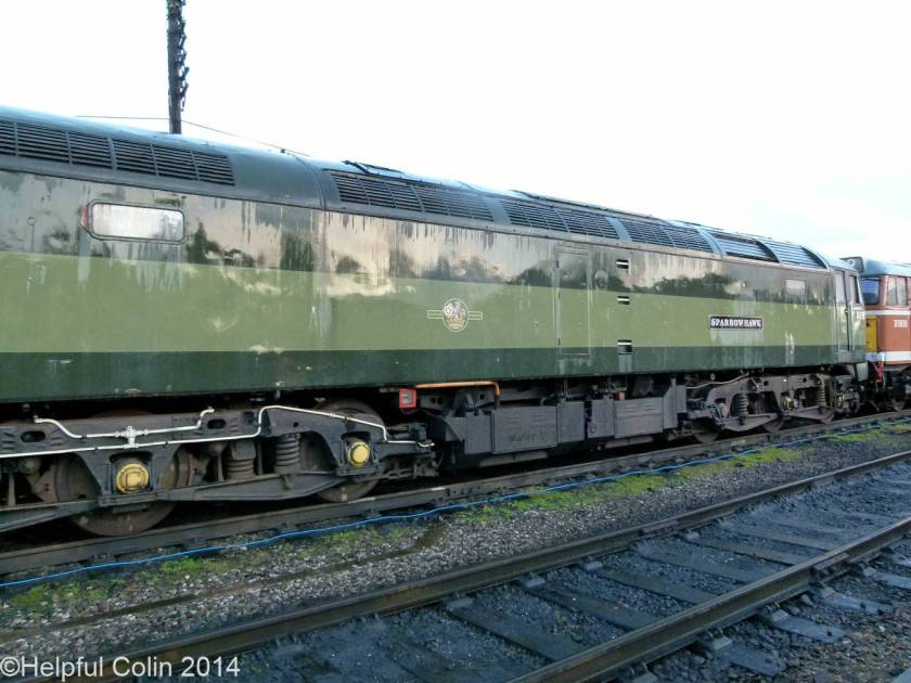 No.D1705 'Sparrowhawk' – Co-Co diesel-electric locomotive Class 47