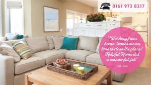 Helpful Home - Clean Tidy Living Room 3 - 01619738217