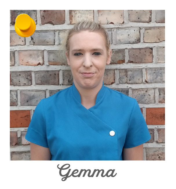 Helpful Home Cleaner Named Gemma