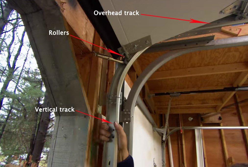 Resolving Garage Door Track Issues  Garage Doors  Repair
