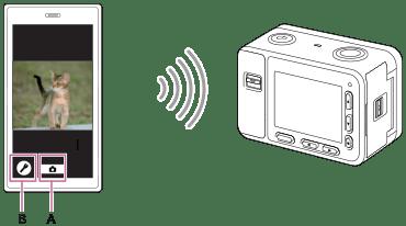DSC-RX0 | 說明指南 | 透過Wi-Fi從智慧型手機控制相機(單一連線)(Android)