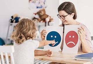 ABA Autism Treatment girl learning skills