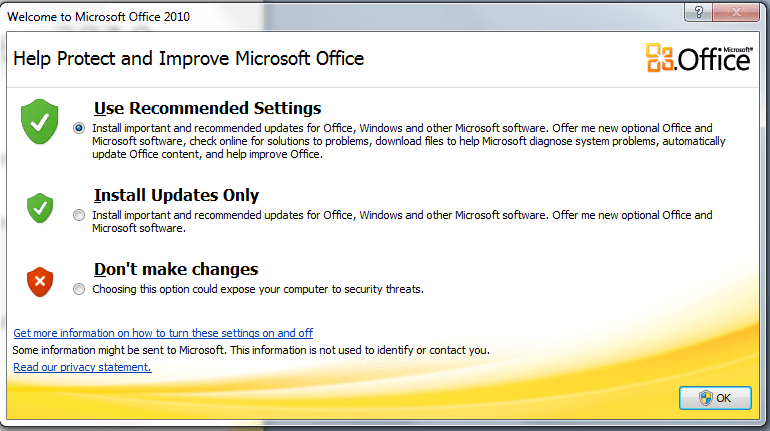 Don't buy Microsoft Office when you buy a new computer