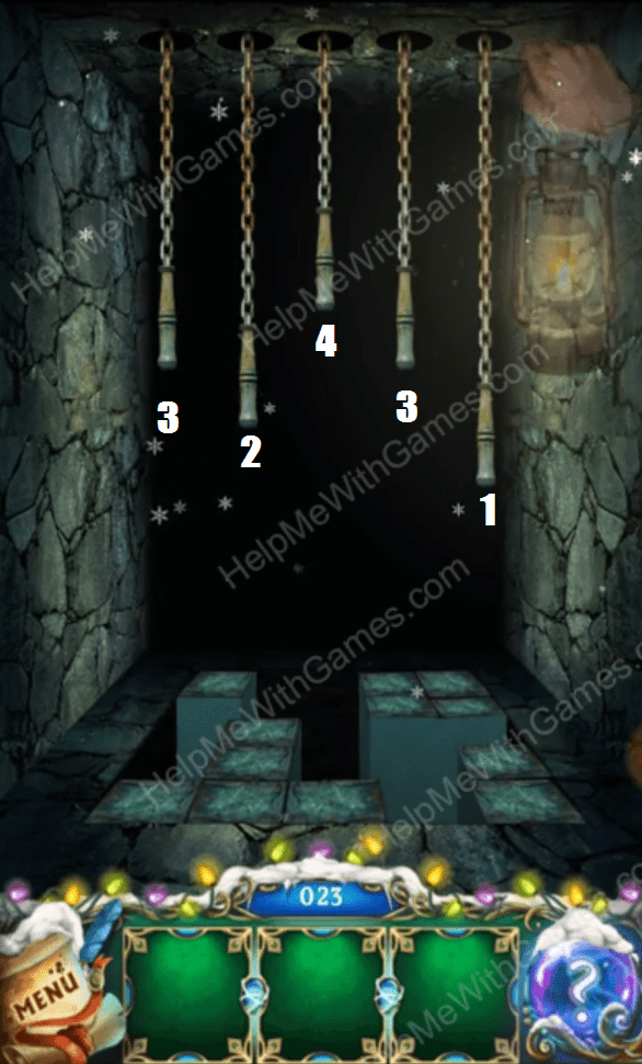 100 Doors The Mystic Christmas Level 23 Helpmewithgames