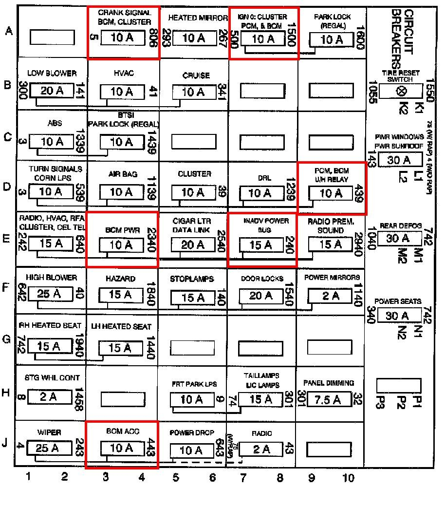 hight resolution of 2002 buick regal fuse box diagram 2002 buick lesabre fuse box 2002 buick regal diagram 2002