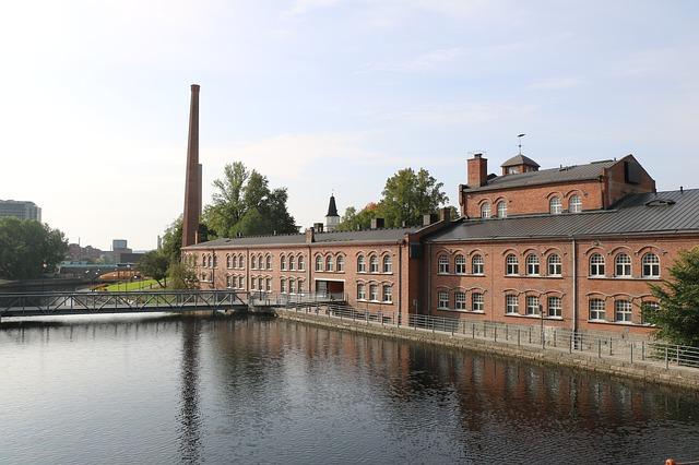 Sähköä tuotetaan Tampereella vesivoimalla