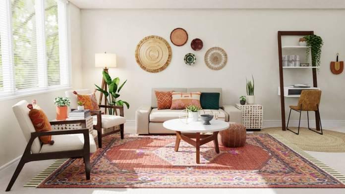 Olohuoneen matto
