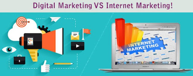 difference between digital marketing and online marketing