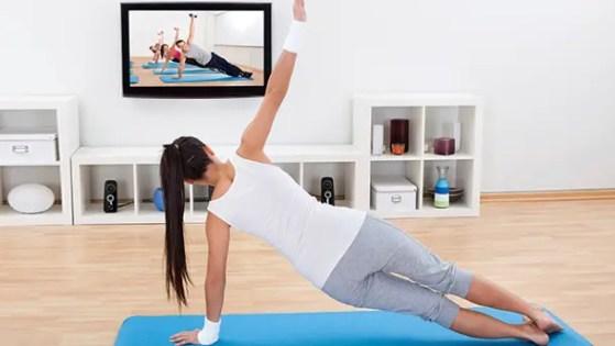 online fitness studio