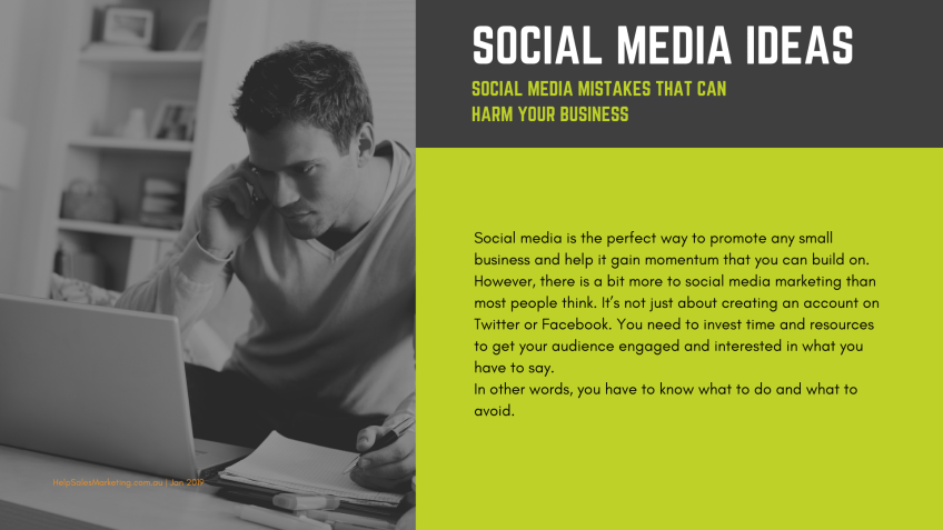 5 2 SOCIAL MEDIA MISTAKES THAT CAN HARM YOUR BUSINESS