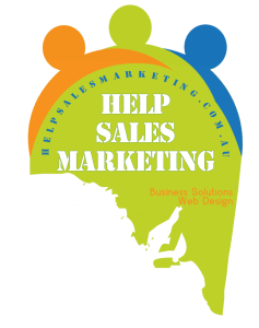 Help Sales Marketing Business solutions Logo