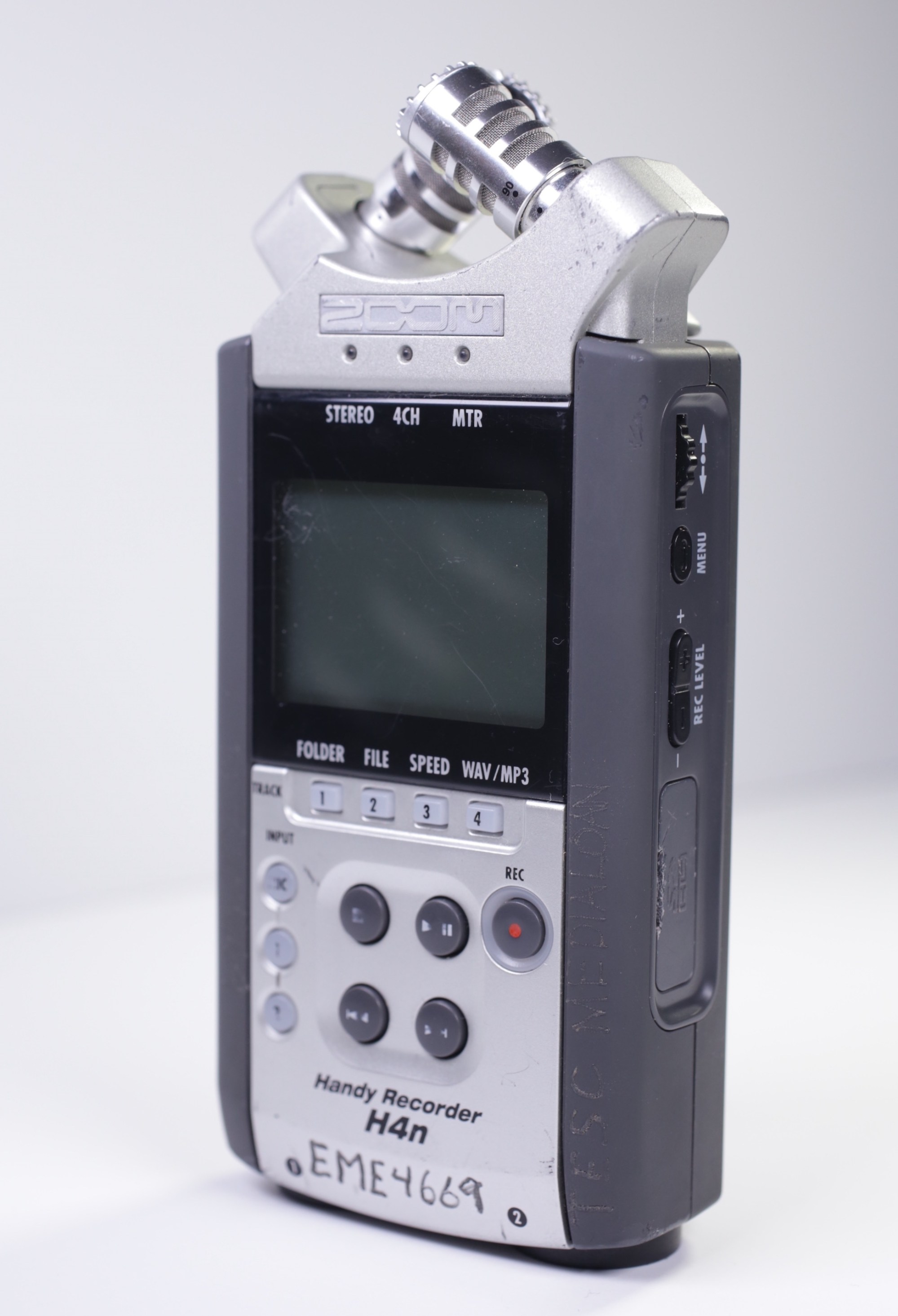 hight resolution of zoom h4n front