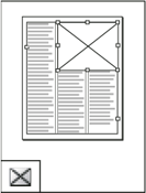 Use the tools in the InDesign Toolbox