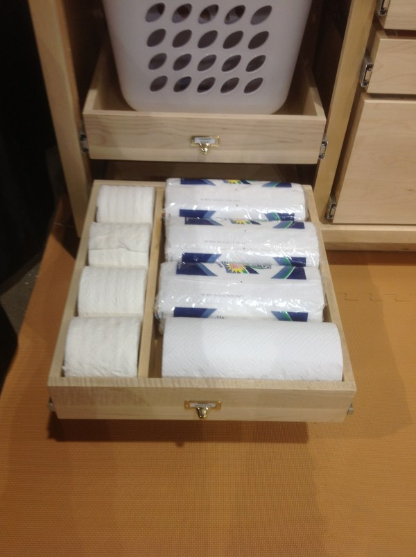 Roll Out Cabinet Organizer Bathroom