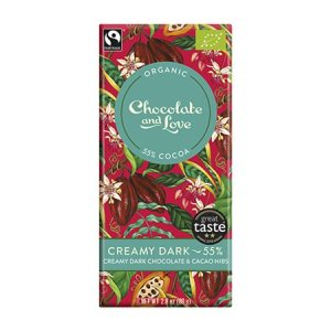 Chokolade Creamy Dark 55% Ø