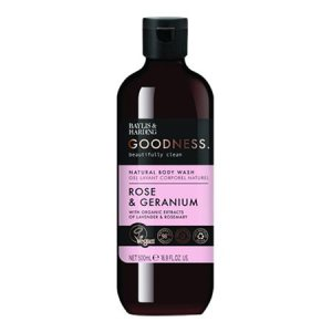 Body Wash rose & geranium Baylis & Harding Goodness