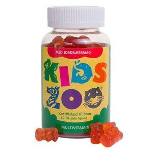 Kids Zoo Multivitamin med Jordbærsmag
