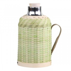 Termokande m. flet i bambus 1,3 L