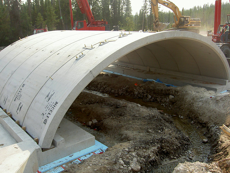Precast Arch Form - Helser Industries - Global Leader in