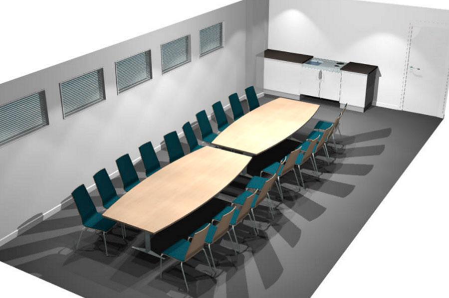 Møterom for 20 personer