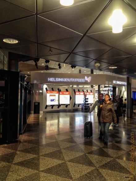 Menschenleerer Flughafen