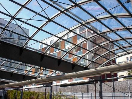 Deckenkonstruktion – glasklar