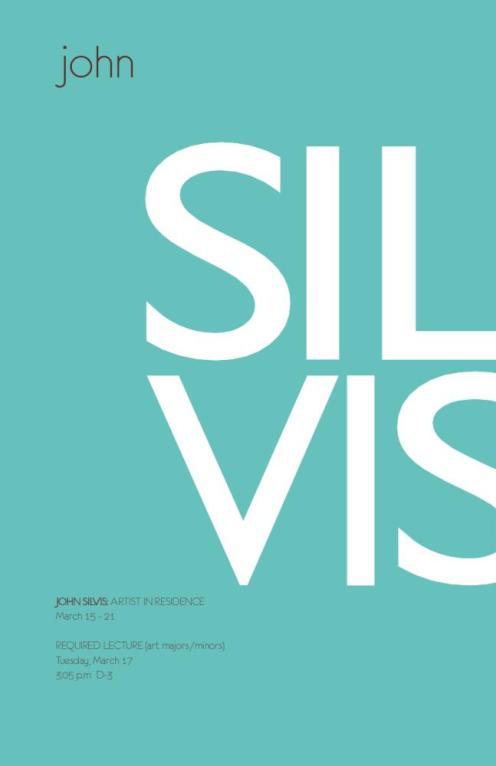John Silvis Lecture