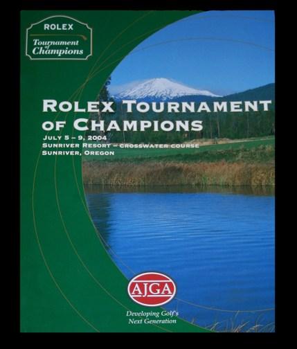 Rolex Tournament Campaign