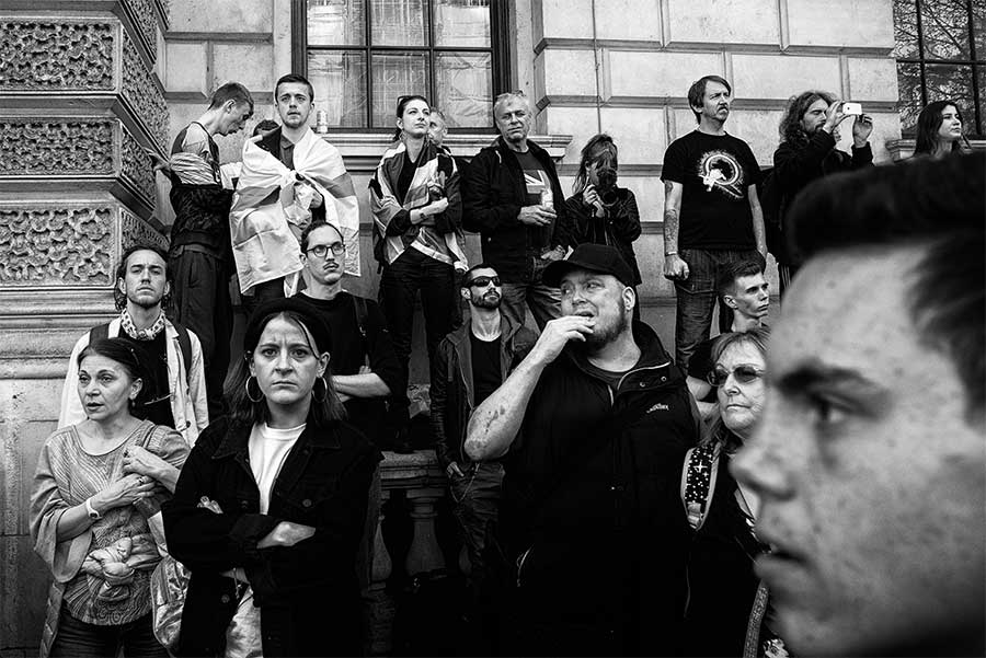 2019, London, UK from the series On the Culture of Protest by David Sladek