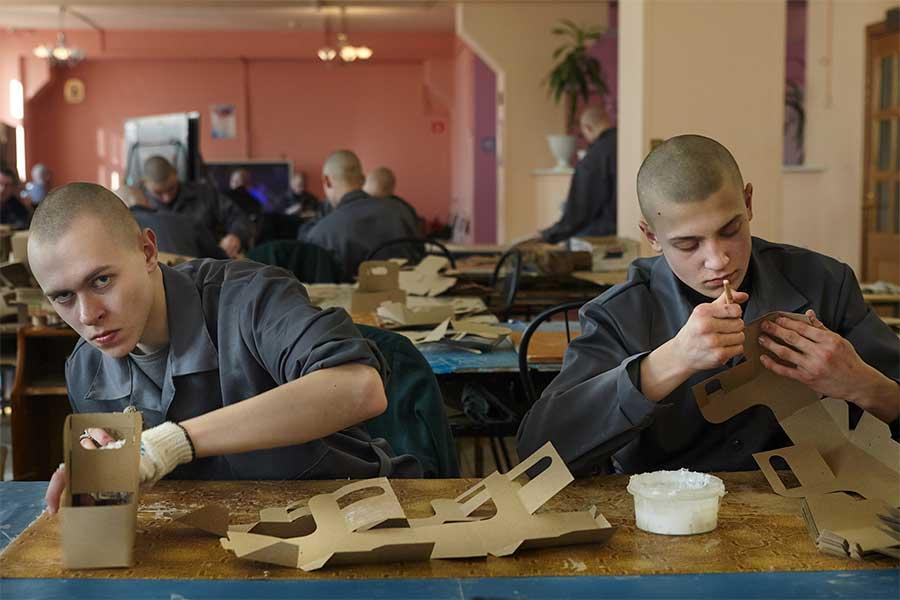 At work from the series Boys by Tatiana Bondareva
