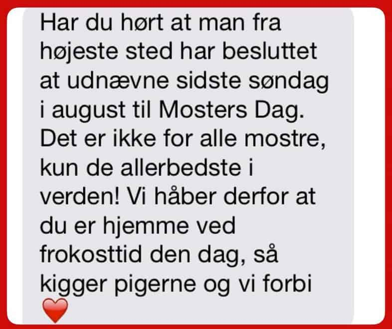Mosters Dag