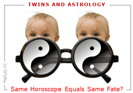 Heluo Hill Four Pillars of Destiny - Twins and Astrology same or different fate