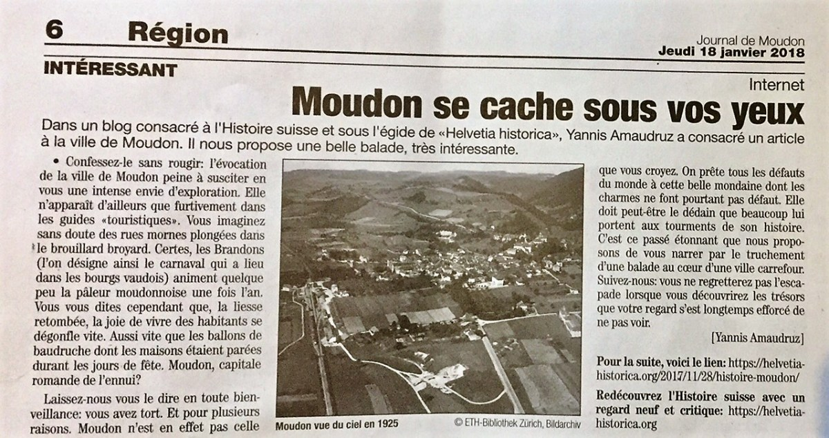Journal de Moudon