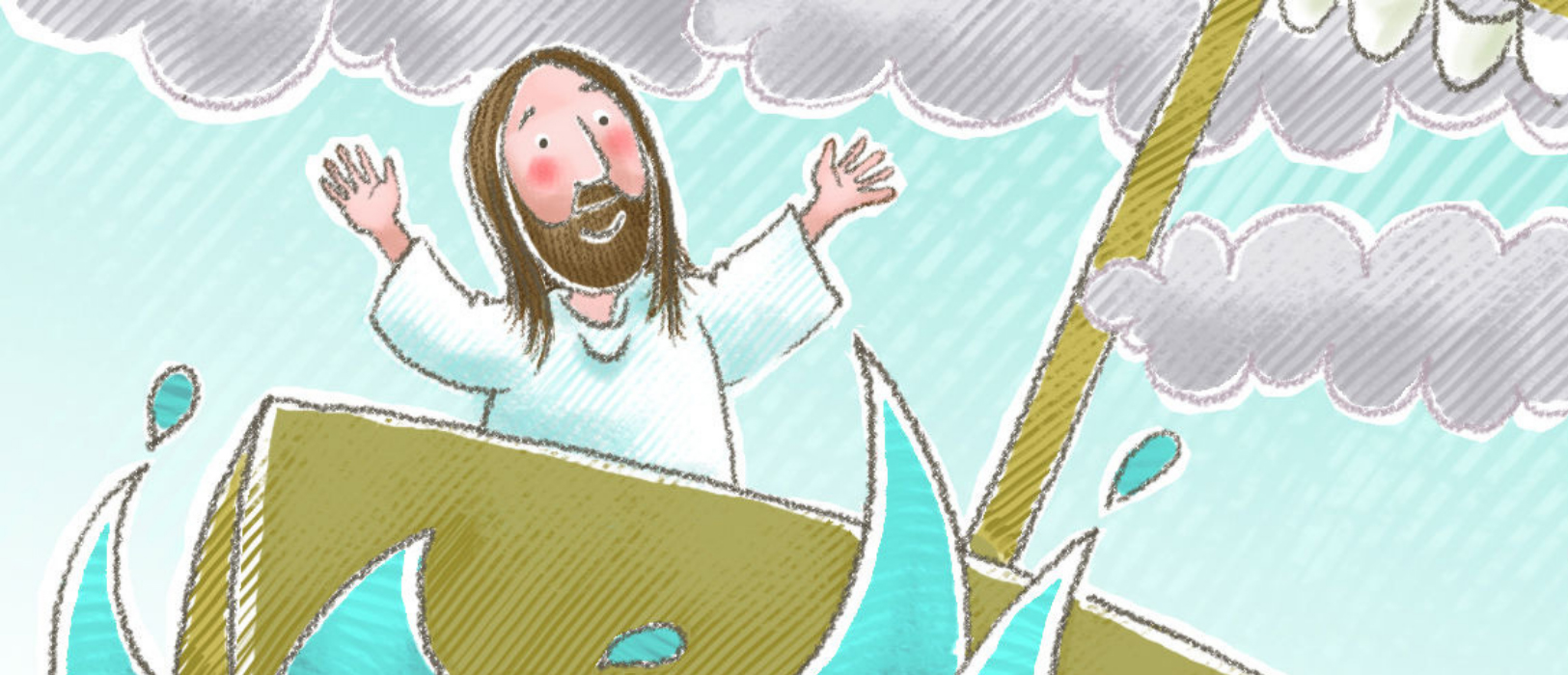 Sunday School Lesson Jesus Calms The Storm On The Sea Of Galilee