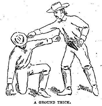 Divers foul tricks and stratagems: Mexican and Bowie knife