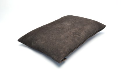Leather Travel Pillow -top