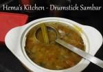 Drumstick(Murungikai) sambar