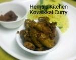 Kovaikkai (Ivy Gourd) Curry with Masala Powder